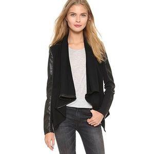 Blank NYC Medium black vegan leather  jacket